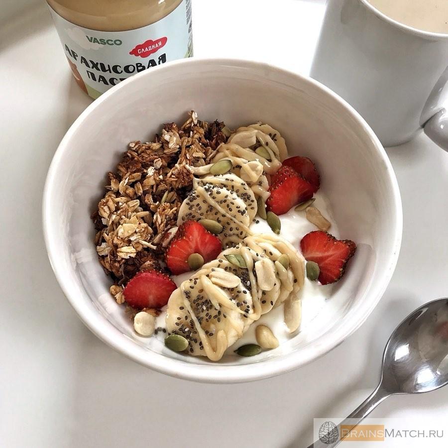 завтрак при диете