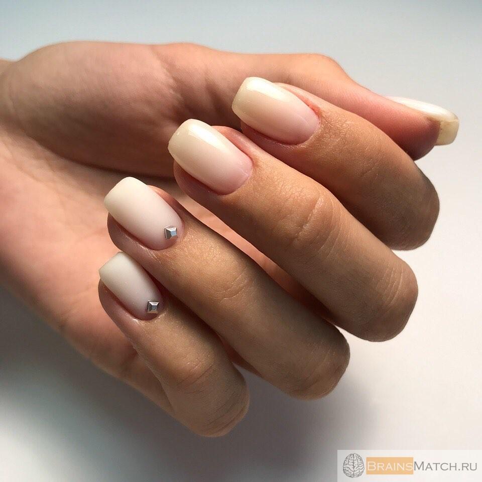 виды маникюра для коротких ногтей
