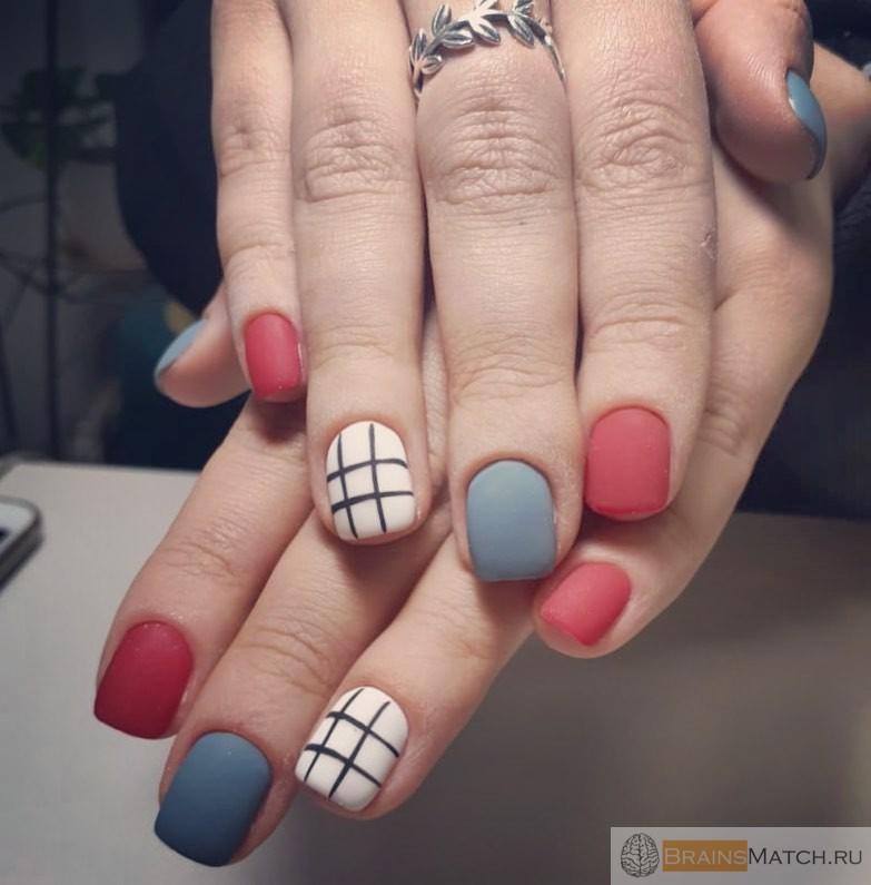 маленькие ногти для маникюра